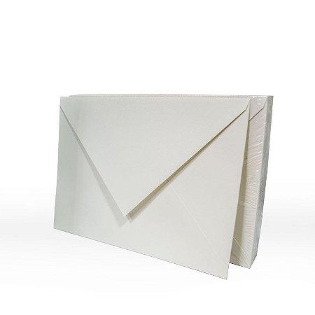 Lote 56 - Envelope Aba Bico 16,5x22,5 - 50 unid.