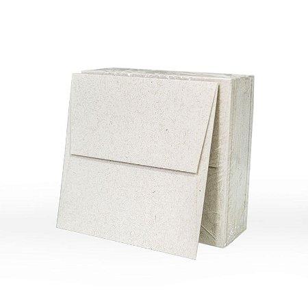 Lote 57A - Envelope Aba Reta 10x10 - 50 unid.