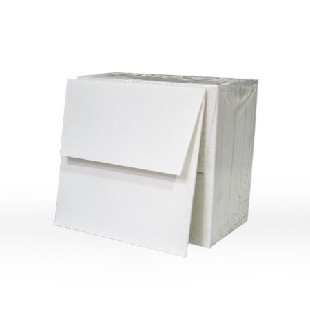Lote 58- Envelope Aba Reta 10x10 - 50 unid.