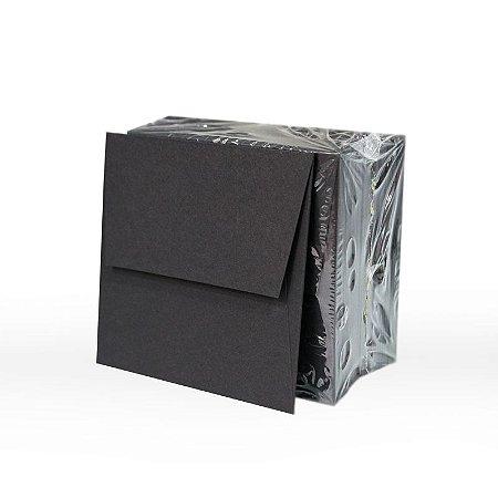 Lote 63 - Envelope Aba Reta 8,0x8,0 - 50 unid.