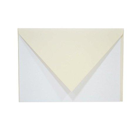 Lote 76 - Envelope Aba Bico 9,2x13,2 - 50 unid.