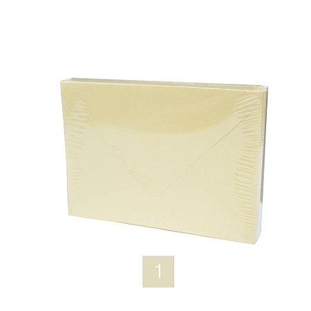 Lote 88 - Envelope Retângulo Aba Bico 11,7x16,2 - 50 unid.