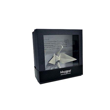 Kit Origami - Tsuru - Color Plus Marfim 10x10
