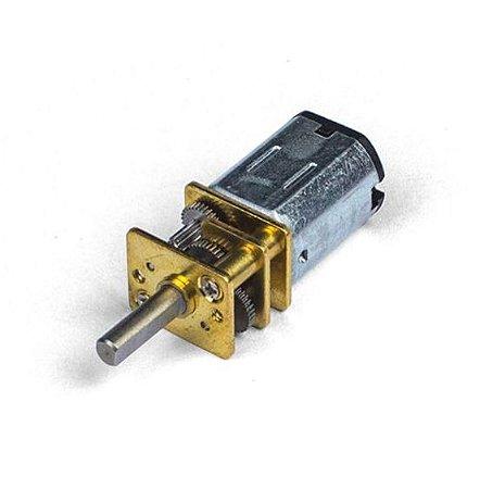 Micro Motor com Caixa de Redução N20 6V 150RPM