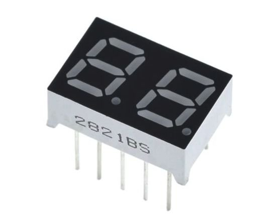 "Display 7 Segmentos 2 Dígitos - 0.36"""