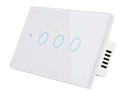Interruptor Inteligente 3 Canais WiFi Tuya