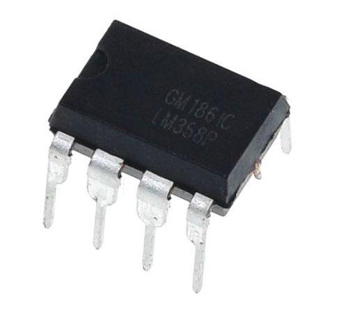 LM358 - CI Amplificador Operacional Duplo
