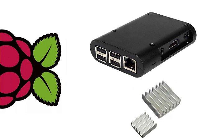 Case Raspberry Pi 3/ Pi 2 + Dissipadores
