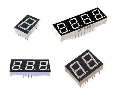 Display 7 Segmentos (1, 2, 3, 4 Dígitos)