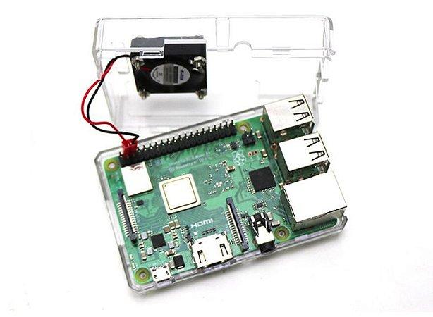 Case Raspberry Pi 3 + Cooler