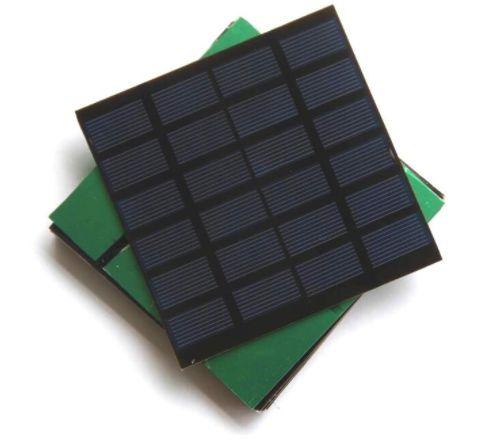 Placa Solar 1,5W 6V