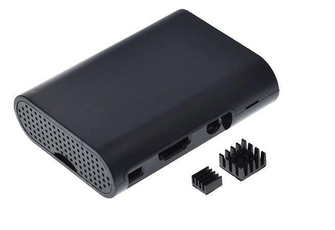 Case para Raspberry Pi 3 + Dissipadores