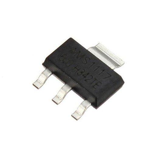 Regulador de Tensão AMS1117 1A (3.3V ou 5V)