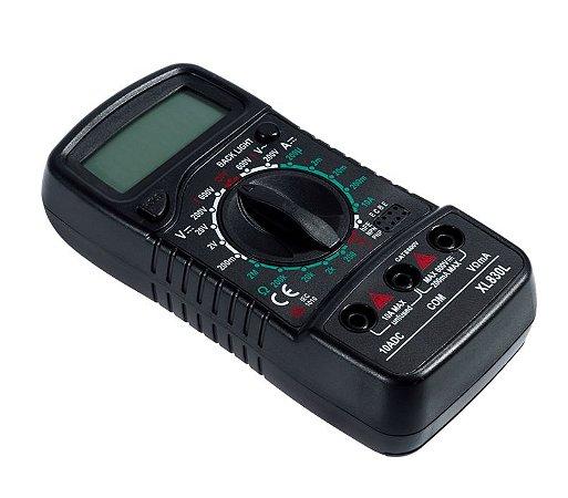 Multímetro Digital XL830L + Pontas de Prova