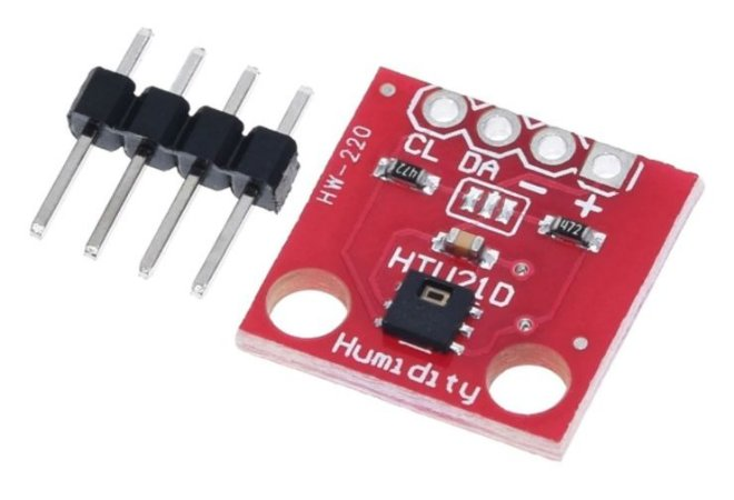 Sensor de Umidade e Temperatura HTU21D