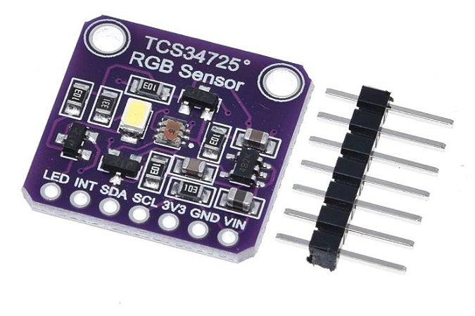 Sensor de Cor RGB TCS34725