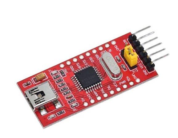 Placa FTDI FT232BL Conversor USB Serial