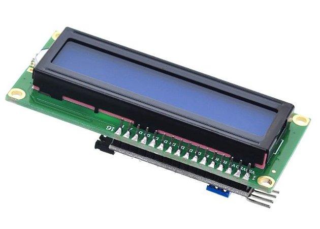 Display LCD 16x2 Backlight Azul com I2C