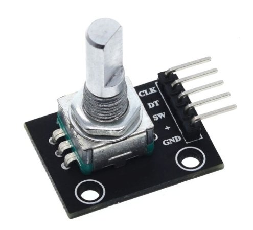 Módulo Encoder Decoder Rotacional KY-040
