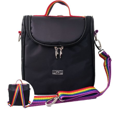 Bolsa Térmica Mochila Bag Arco Íris Pride Lgbtqia+
