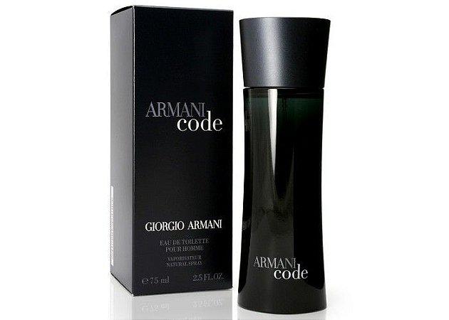 Armani Code Giorgio Armani Perfume Masculino Eau de Toilette - 125ml