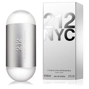 212 NYC Carolina Herrera Perfume Feminino Eau de Toilette 60ml