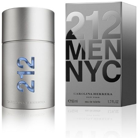 212 Men NYC Carolina Herrera Masculino - Eau de Toilette - 50ml