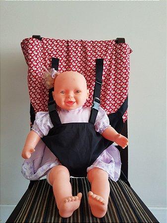 Cadeira de Pano Zimbro Vermelha