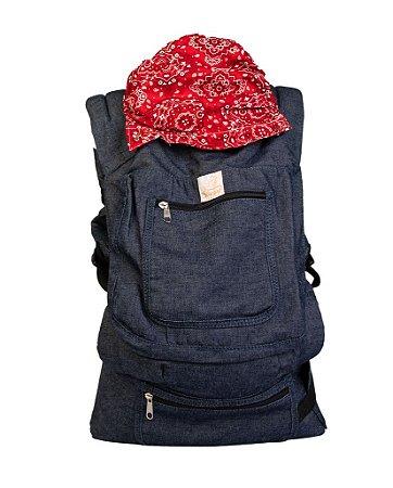 ErgoSlingaê Toddler Jeans Bandana (A partir de 22 meses)