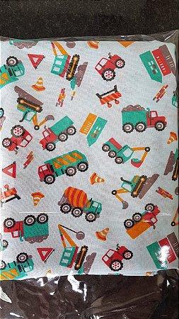 kit lençol de berço Caminhões