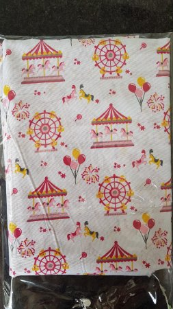 kit lençol de berço Parque de Diversões
