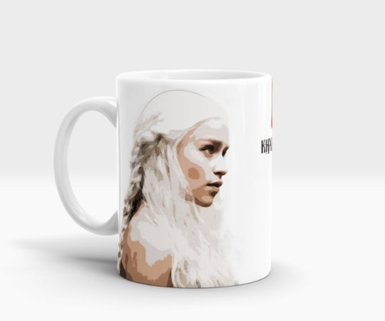 Caneca da Khaleesi - Game of Thrones