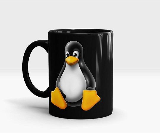Caneca Tux - Linux