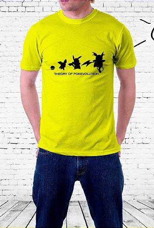 Camiseta Teoria da Pokévoluçăo (Pokevolution)