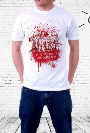 Camiseta All My Friends Are Murderers