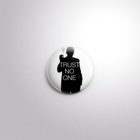 Botton Trust no One - X-files