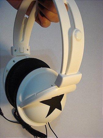 Fone (headphone) de estrela