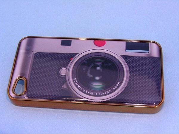 Case de câmera retrô para iPhone 4