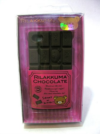 Case Chocolate Rilakkuma para iPhone 4 / 4S
