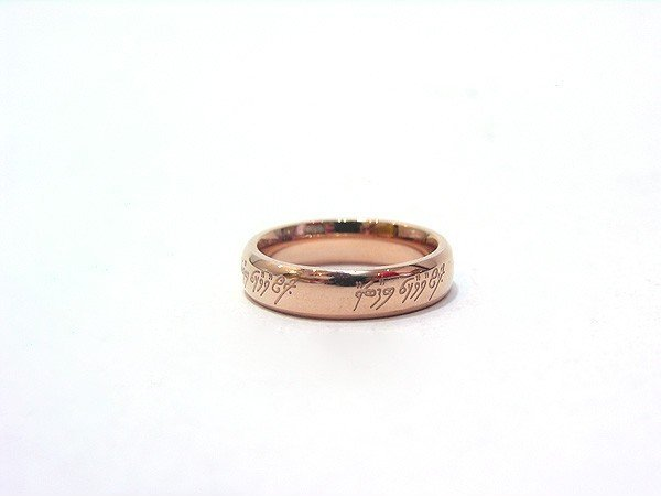 Anel do Poder do Senhor dos Anéis - Lord of the Rings - Modelo Simples