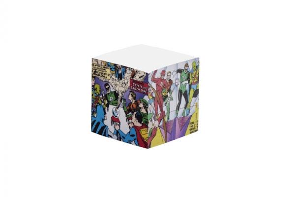 Bloco de anotaçăo Liga da Justiça - DC Comics