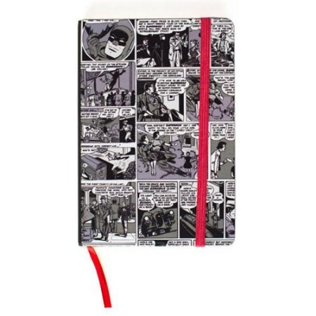 Caderneta DC Comics - Preto e branco