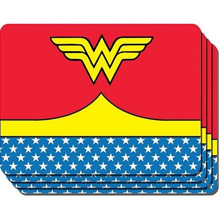 Jogo americano de PVC Mulher Maravilha (Wonder Woman) - DC Comics