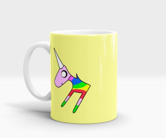 Caneca Lady Rainicorn - Adventure Time (Hora de Aventura)