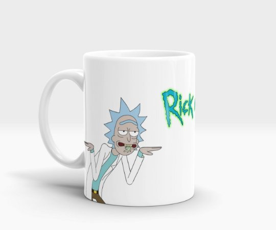 Caneca Rick and Morty (Swifty)