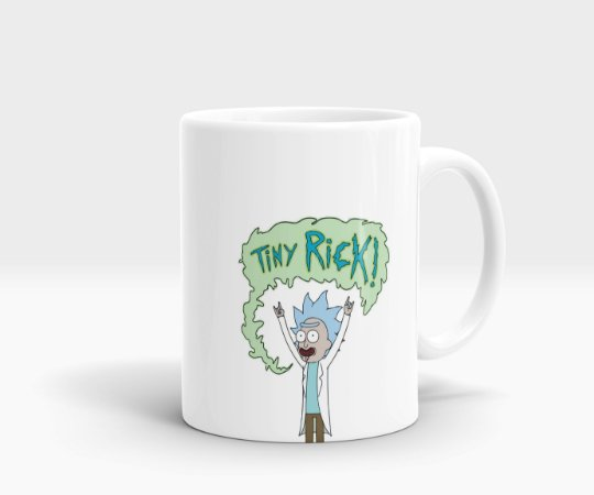 Caneca Tiny Rick - Rick &Morty
