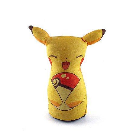Peso De Porta Pikachu Geek Temático Decoração Enfeite Casa