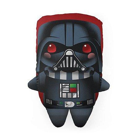 Almofada Decorativa Darth Vader Saga Star W Temática Para Quarto Sala