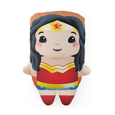 Almofada Decorativa DC Mulher Maravilha Liga da Justiça Temática Para Quarto Sala