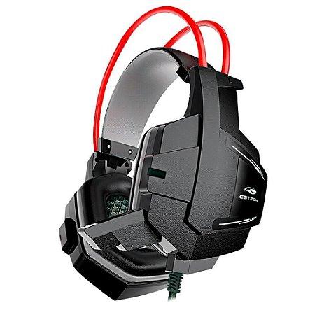 Headset Gamer C3TECH SPARROW RGB PHG11BK Fone de Ouvido